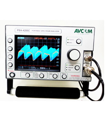 Portable Spectrum Analyzer C-band - AVCOM