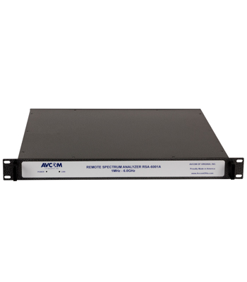 Rack Mount Extended Frequency Remote Spectrum Analyzer