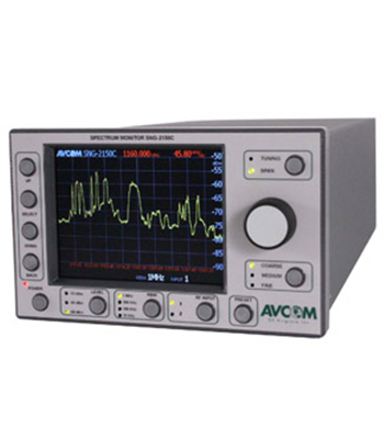 SNG Spectrum Analyzer with Display